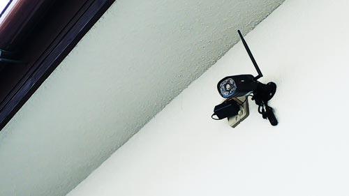 防犯カメラ(IPカメラ)