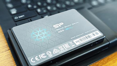 シリコンパワー SSD 256GB A55