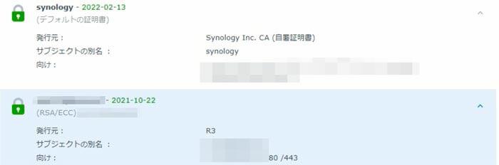 Synology SSL